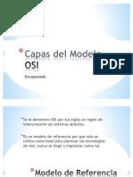 capas del modelo OSI  redes