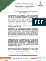 M - MODELOS ALTERNATIVOS DE INTERVENCIÓN... D. Vásquez