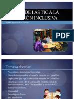 Aporte de las TIC a la educación inclusiva