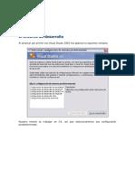 El Entorno de Desarrollo Vs2005