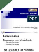 Matemática Aplicada (Sesión 1)