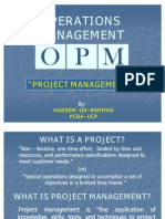 7. Project Management