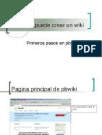 Como Se Puede Crear Un Wiki