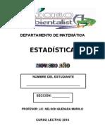 Estadística-9º
