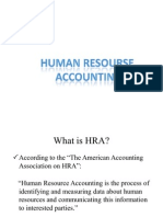 Human Resourse Accounting FINAL
