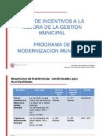 PMM Incentivos Municipales TIPOB