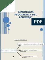 Semiologia Psiquiatrica Del Lenguaje