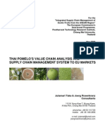 Pomelo Value Chain Study