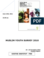 Country Report Muslim Youth Survey 2010_14Juni2011