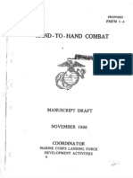 FMFM1-4 Hand-To-Hand Combat (O'Neill System Defendu) 1966