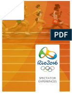 Rio2016 Recommendations - Spectator Experience