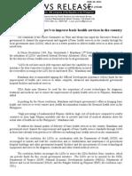 NR #2450B, 06.29.2011, Health Services