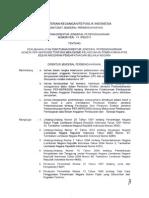 Perubahan Atas Perdirjen nomor Per-66/PB/2005