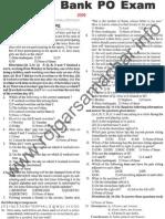 Andhra Bank PO Paper 2005 FULL PAPER Scribd