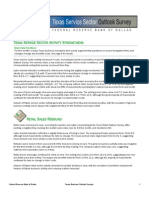 Texas Service Sector Outlook June 2011