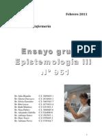 Relato Epistemología III