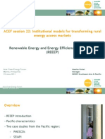 Maaike Gobel - Institutional Models for Transforming Rural Energy Access Markets