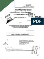 Aurora Loan Services v Weisblum Respondents Brief 22 Oct 2010