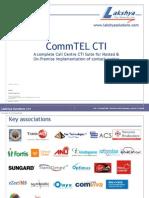 Lakshya CommTEL CallDesk CTIPlatform Brochure