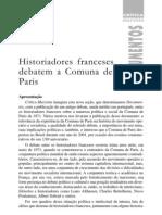 Historiadores Franceses Debatem a Comuna de Paris