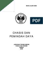 Buku Ajar - PTM325 Teori Chasis Dan Pemindah Daya