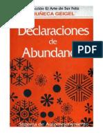 Muñeca Geigel - Declaraciones de Abundancia