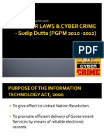 Cyber Laws & Cyber Crime