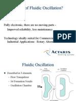 Basics of Fluidic Oscillation