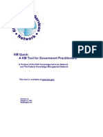 A KM Tool for Government Practitioners