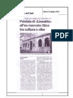 25.06.2011 - Puntata Di Linea Blu All Ex Mercato Ittico Tra Cultura e Cibo