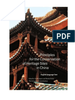 Agnew, N. y Demas, M. Principles for Conservation Heritage Sites in China. 2004