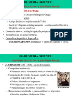 IMPÉRIO ROMANO DO ORIENTE