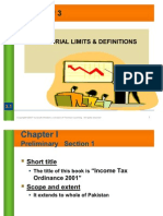 Taxation Lecture#3