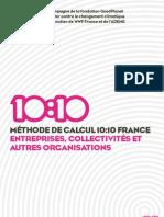 1010 Méthodologie