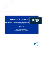 WSSP - Technical & Financial File