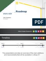 Roadmap 6.1 Whats Next - Julio Camarero