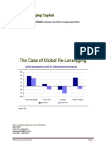 The Case of Global Re-Leveraging