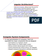 Computer Architecture Overview