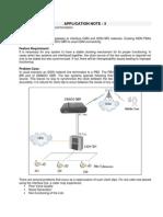 Application Note - SIMADO GBR Clock Sync