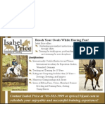 Isabel Price Half Page Full Color Ad