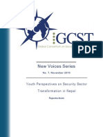 GCST WP Series 7 Youth Perspectives on Security Sector Transformation in Nepal