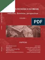 Pesquisa em Música no Brasil