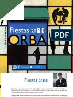 Programa de Fiestas Barrio Orba 2011
