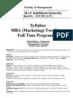Mktg MBA Syllabus