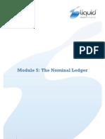 Module 5 - Nominal Ledger v7.0