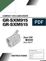 Jvc Gr-Sxm515u