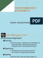 Importance of Information Management Edit