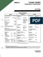 Ht600e Service Manual
