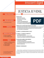 Unicef Justicia Juvenil Inoccenti Digesti