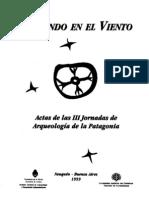 (1999) Excavaciones recientes en Cerro de los Indios 1, Lago Posadas, Santa Cruz - Aschero, De Nigris, María José Figuerero Torres, Guráieb, Guillermo L. Mengoni Goñalons, Yacobaccio